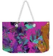 Razberry Ocean Of Butterflies Weekender Tote Bag