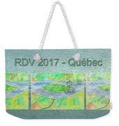 Rdv 2017 Quebec Mug Shot Weekender Tote Bag