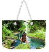 Reach Falls River Weekender Tote Bag
