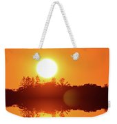 Reach Out Two  Weekender Tote Bag
