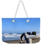 Reaching Back To The Sea Weekender Tote Bag