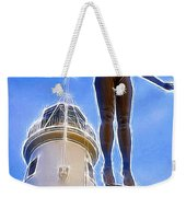 Reaching For Gold Weekender Tote Bag