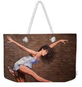 Reaching New Heights Weekender Tote Bag