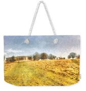 Reaching Some Trees After A Climb Weekender Tote Bag