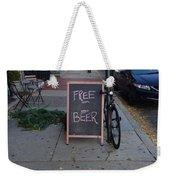 Read The Fine Print Weekender Tote Bag