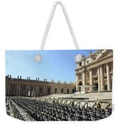 Ready For Pope's Appearance Weekender Tote Bag