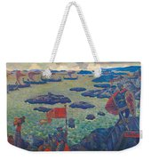 Ready For The Campaign, The Varangian Sea Weekender Tote Bag