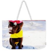 Fire Pup Ready To Roll Weekender Tote Bag