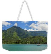 Ready To Sail In Hanalei Bay Weekender Tote Bag