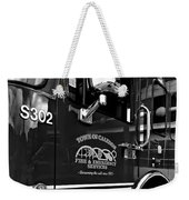 Ready To Serve Bw Weekender Tote Bag