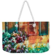 Ready To Water The Garden Oil Painting Weekender Tote Bag