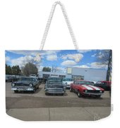 Readying To Race Weekender Tote Bag