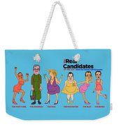 Real Candidates Of The Gop -clear Background Version 2 Weekender Tote Bag