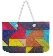 Real Sharp Weekender Tote Bag