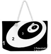 Reality 9 Weekender Tote Bag by Eikoni Images