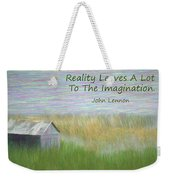 Reality Weekender Tote Bag
