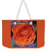 Really Orange Rose Weekender Tote Bag