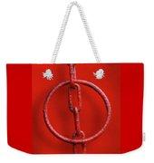 Really Red Weekender Tote Bag