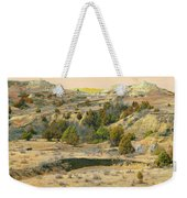 Realm Of Golden West Dakota Weekender Tote Bag
