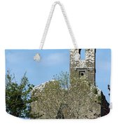 Rear View Fuerty Church And Cemetery Roscommon Ireland Weekender Tote Bag