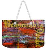 Reasonable Doubt Weekender Tote Bag