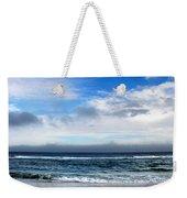 Receding Fog Seascape Weekender Tote Bag