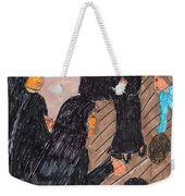 Recess Time With The Sisters Weekender Tote Bag