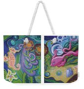 Reciprocal Liason Of The Sea Weekender Tote Bag by Genevieve Esson