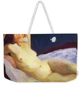 Reclining Nude Barbara Brown 1916 Weekender Tote Bag