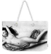 Reclining Nude, C1900 Weekender Tote Bag