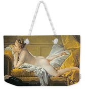 Reclining Nude Weekender Tote Bag by Francois Boucher