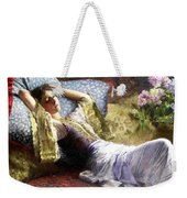 Reclining Odalisque Weekender Tote Bag