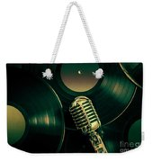 Recording Studio Art Weekender Tote Bag