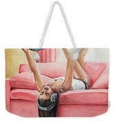Records And Chill Weekender Tote Bag