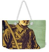 Recruitment Poster Follow Me Your Country Needs You Weekender Tote Bag