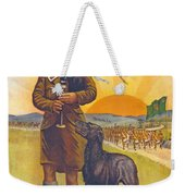 Recruitment Poster The Call To Arms Irishmen Dont You Hear It Weekender Tote Bag