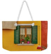 Rectangle Iterations Broom And Laundry Burano_dsc5134_03042017 Weekender Tote Bag
