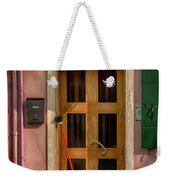 Rectangle Iterations Door Broom And Bucket_dsc5127_03042017 Weekender Tote Bag