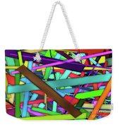 Rectangle Matrix 24 - Amcg20180305 40 X 27 Weekender Tote Bag