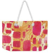 Rectangles And Jangles Weekender Tote Bag