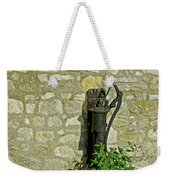 Rectory Mansion And Hand Pump - Brading Weekender Tote Bag