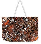 Recurring Pattern Abstract Weekender Tote Bag