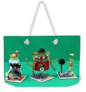 Recycled Characters Weekender Tote Bag