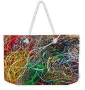 Recycled Thread Weekender Tote Bag