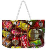 Recycling Cans Weekender Tote Bag