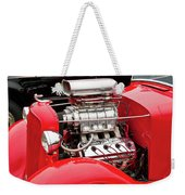 Red 1992 Weekender Tote Bag