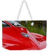 Red 63 Vette Weekender Tote Bag