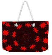 Red Abstract 031211 Weekender Tote Bag