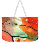 Red Abstract Art - Decadence - Sharon Cummings Weekender Tote Bag