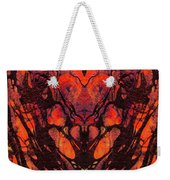 Red Abstract Art - Heart Matters - Sharon Cummings Weekender Tote Bag